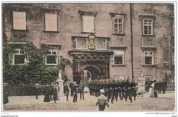 WIEN:  SCHWEIZER  JOR  -  IM  ALTESTEN  JEIL  DER  K.K. HOFBURG  -  KLEINFORMAT - Regimente