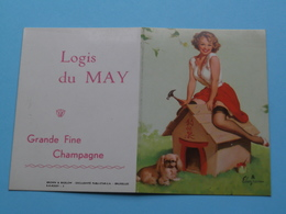 Logis Du MAY - Grande Fine Champagne ( Brown & Bigelow ) 1963 ( Zie Foto's ) ! - Calendriers