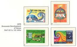 South Viet Nam - 1975 - Un-issued Stamps - Economic Development - MNH - RARE - Vietnam