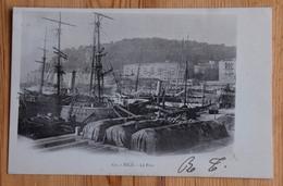 06 : Nice : Le Port  -Bateaux - Voiliers - Type Précurseur 1902 - (n°15209) - Schiffahrt - Hafen