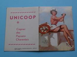 UNICOOP Cognac Des Paysans Charentais ( Brown & Bigelow ) 1964 ( Zie Foto's ) ! - Calendriers
