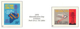 South Viet Nam - 1975 - Un-issued Stamps - Electrification Day - MNH - RARE - Vietnam