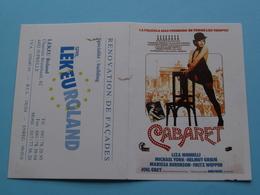 CABARET (Ciné) > Renovation De Façades LEKEUROLAND 4452 Juprelle () 1993 ( Zie Foto's ) ! - Calendriers