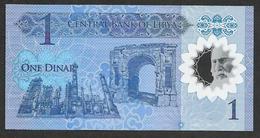 Libya 1 Dinar 2019  Commemorative Polymer UNC - Libya