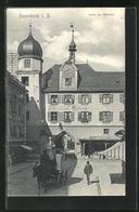 AK Rosenheim I. B., Strassenpartie Am Mittertor - Rosenheim