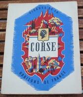 LIVRE VISAGES DE LA CORSE  PAR LOUIS VILLAT CHRISTIAN AMBROSI PAUL ARRIGHI J D GUELFI  1951 - Corse