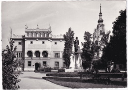 Miskolc - Deák Tér Sz Erdöigazgatósággal / Déak Square With The Forestry - Hongarije