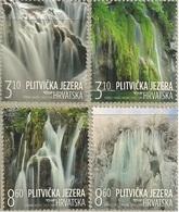 HR 2019-1397-400, CROATIAN TURISAN - PLITVICE LAKES, CROATIA HRVATSKA, 1 X 4v, MNH - Croatie