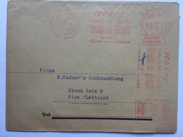 GERMANY 1939 Newspaper Wrapper Neudamm To Riga Latvia / Lettland - `zeitschrift Fur Schweinezucht` - Pig Breeding - Germania