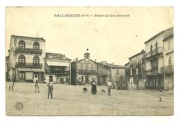 30 GALLARGUES PLACE DU COUDOUYER GARD - Gallargues-le-Montueux