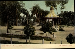 Cp Campinas Brasilien, Jardim Publico, Corete - Brésil