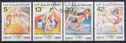 BULGARIJE - Michel - 1988 - Nr 3679/82 - Gest/Obl/Us - Bulgarie