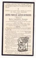 DP Gemeentesecretaris - Josephus F. Raeymaekers ° Lichtaart 1864 † 1927 X Maria C. Theeuws - Images Religieuses