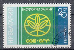 BULGARIJE - Michel - 1988 - Nr 3710 - Gest/Obl/Us - Bulgarie