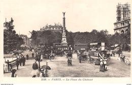 75-PARIS-PLACE DU CHATELET-N°C-422-H/0185 - Francia