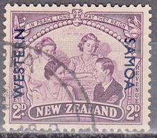 SAMOA     SCOTT NO. 192     USED      YEAR  1946 - Samoa