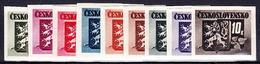 ** Tchécoslovaquie 1945 Mi 415-23 (Yv 363-71 B), (MNH) - Ungebraucht