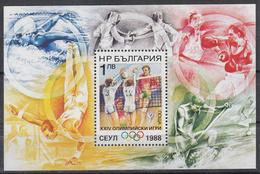 BULGARIJE - Michel - 1988 - BL 180 A - MNH** - Blocs-feuillets