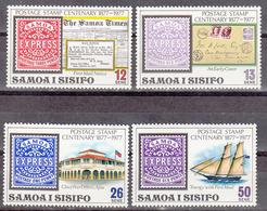 SAMOA     SCOTT NO. 458-61     MNH     YEAR  1977 - Samoa