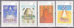 SAMOA     SCOTT NO. 462-65     MNH     YEAR  1977 - Samoa