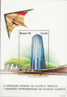 BRAZIL     SCOTT NO. 1619      MNH SOUV. SHEET     YEAR  1979 - Brazil
