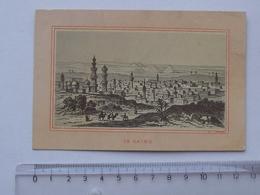 CHROMO: LE CAIRE - Vue Générale De La Ville - EGYPTE MOYEN-ORIENT - Trade Cards