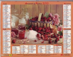 (Divers). Calendriers Almanach Oberthur Du Facteur 2003 Departement 39 Jura Chat Lapin Enfants & 2010 Lavigne & 2001.76 - Kalenders