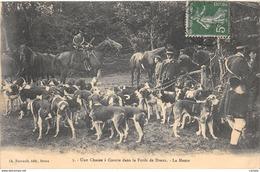 28-DREUX-LA FORET CHASSE A COURRE-N°428-D/0067 - Dreux