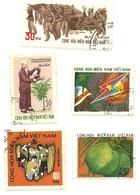 Vietnam - Lotto Francobolli 1Z - Vietnam
