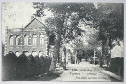 LILLE Sint Huibrechts 1924 Kruisweg Carrefour - Dorpstraat ? - Uitg. Bazar Leyssens, Neerpelt - Saint Hubert - Neerpelt
