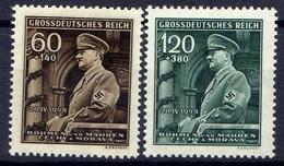 Böhmen Und Mähren 1944 Mi 136-137 ** [130419XXVI] - Besetzungen 1938-45