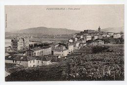 - CPA FUENTERRABIA (Espagne) - Vista General - Edit. Tiburcio Berrotaran - - Espagne