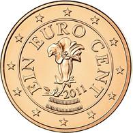 Autriche, Euro Cent, 2011, FDC, Copper Plated Steel, KM:3082 - Autriche