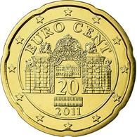 Autriche, 20 Euro Cent, 2011, FDC, Laiton, KM:3140 - Autriche