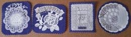 Japon 2017 8452 8455 Timbres Salutations Fleurs En Dentelle  Photo Non Contractuelle - 1989-... Emperor Akihito (Heisei Era)