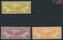 USA 321A-323A (kompl.Ausg.) Postfrisch 1930 Pilotenabzeichen (9324887 - Ungebraucht