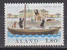 Aland 1988 350th Anniversary Of Postal Services 1v ** Mnh (43357A) - Aland