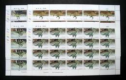 Thailand Stamp FS 1997 Dinosaurs - Thailand