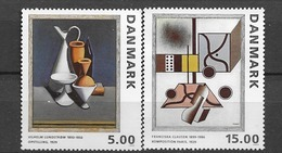 1993 MNH Danmark, Michel 1068-9 Postfris** - Danimarca