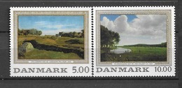 1992 MNH Danmark, Michel 1044-5 Postfris** - Danimarca