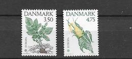 1992 MNH Danmark, Michel 1025-6 Postfris** - Danimarca