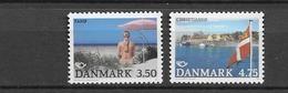 1991 MNH Danmark, Michel 1003-4 Postfris** - Danimarca