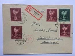 GERMANY 1945 Cover Registered Freital Intenal - Goldschmeide Kunst - Briefe U. Dokumente