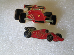 PIN'S   LOT 2  FERRARI  FORMULE 1 - Ferrari