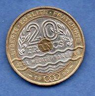 20 Francs Jeux Méditerranéens  1993  - état  SUP - Frankreich