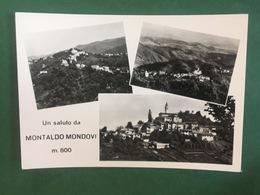 Cartolina Un Saluto Da Montaldo Mondovi M.800 - 1960 Ca. - Cuneo