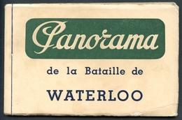 PANORAMA De La Bataille De WATERLOO, Album 12 Stück, Komplett, Louis Dumoulin, Um 1940 - Belgien