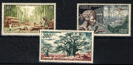 África Occidental  Nº 18/20. Año 1954 - A.O.F. (1934-1959)