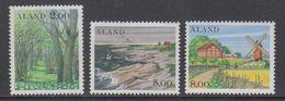 Aland 1985 Definitives / Landscapes 3v ** Mnh (43257F) - Aland