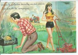 50352 - CONTRE LA POLLUTION DES VILLES, UN SEUL REMEDE: L'AIR PUR DE LA CAMPAGNE - LOUIS CARRIERE - Carrière, Louis